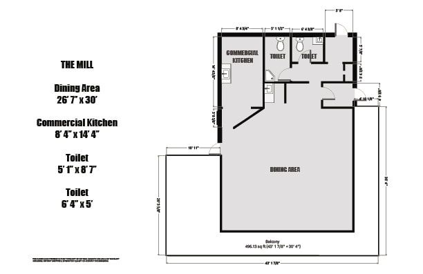 1 Mill Street Floorplan